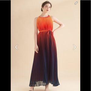Chicwish Splendor of the Sunset ombré dress